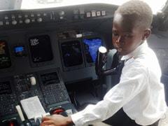 Seven-Year-Old Who Adores Elon Musk Is Sensation On Ugandan Aviation Scene