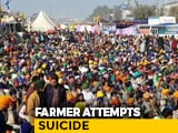 "Video : ""PM, Amit Shah Must Be Held Responsible"": Farmer Who Attempted Suicide"