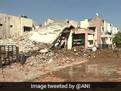 Two Killed In House Collapse As Pipeline Explodes In Gujarat's Gandhinagar