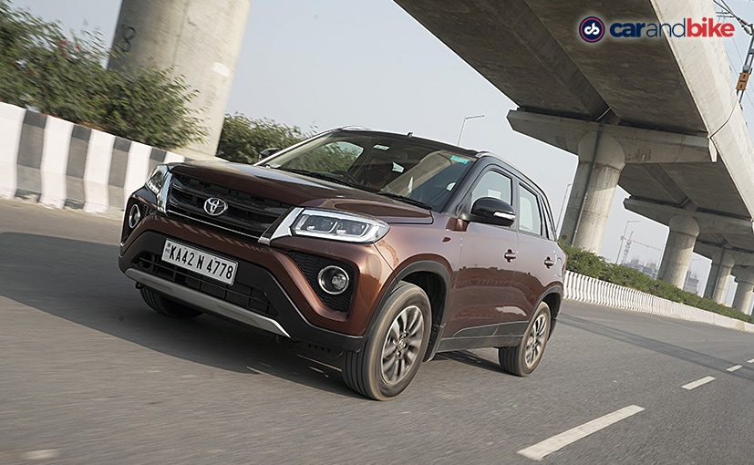 The Toyota Urban Cruiser gets a price hike between Rs. 2500 and Rs. 12,500, depending on the variant