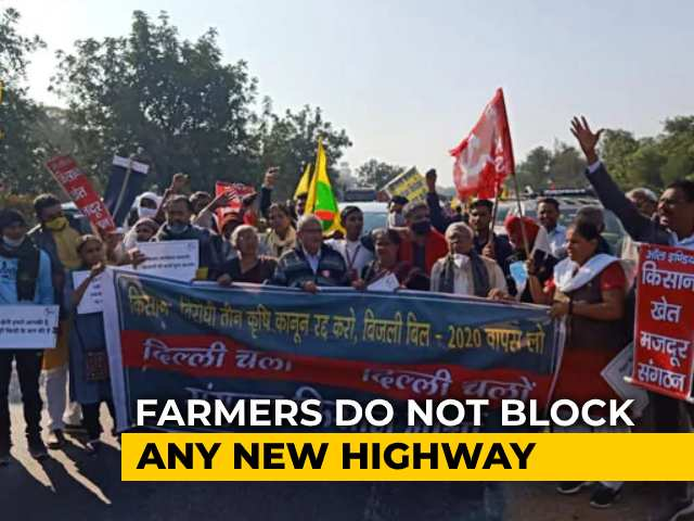 Video : Delhi-Jaipur Highway Partially Opened Amid Farm Law Protests