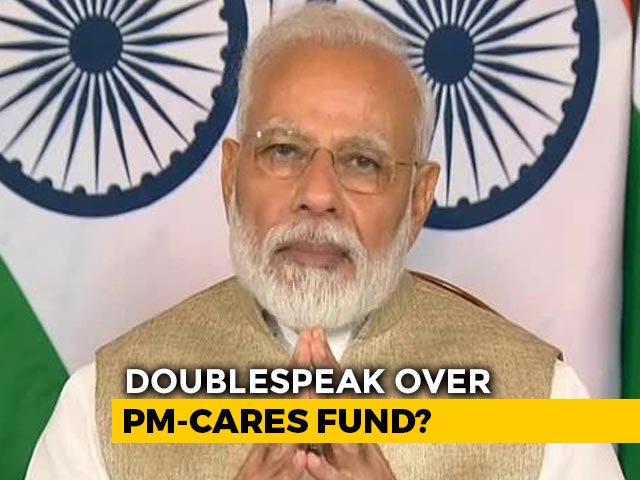 Video : PM-CARES Public Or Private Fund? Documents Reveal Contradiction