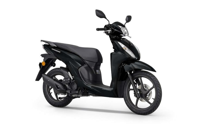 The Honda Vision 110 scooter has been introduced with Smart Key system