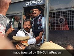 Nearly 100 Congress Workers In Custody For Violating Prohibitory Orders In UP: Police