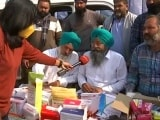 Video : At Delhi Border, Protesting Farmers Have Own Ambulance, Medical Supplies, Doctor