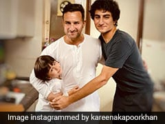Kareena Kapoor ने सैफ अली खान संग इब्राहिम और तैमूर की Photo की शेयर, बोलीं- मनपसंद लड़के...