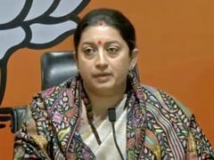 Smriti Irani's Reaction To Court Order Acquitting Journalist Priya Ramani