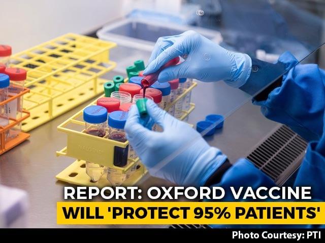 """Video : Oxford Vaccine Will """"Protect 95 Per Cent"""", Says AstraZeneca CEO: Report"""