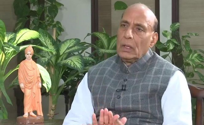 Rajnath Singh Discusses Defence Cooperation With US Counterpart
