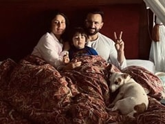Kareena Kapoor, Saif Ali Khan And Taimur In Pic Straight Out Of A Bedtime Story