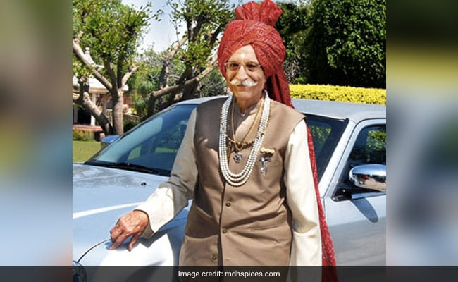 MDH Owner And 'King Of Spices' Dharampal Gulati Dies At 97