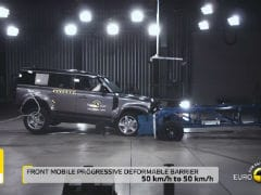 New Land Rover Defender Scores 5 Stars In Euro NCAP Crash Tests