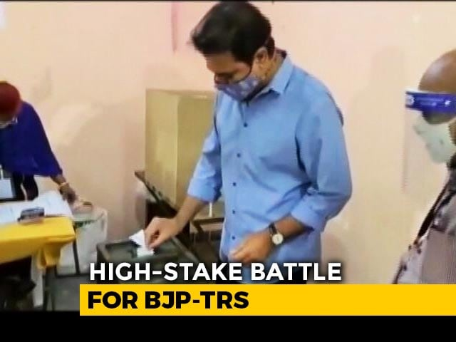 Video : Hyderabad Votes Today After BJP's Top-Gun Campaign Vs Chief Minister KCR
