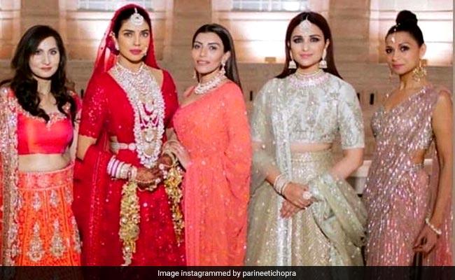 Parineeti Chopra's Throwback To A Bridesmaids Moment From Priyanka Chopra's Wedding