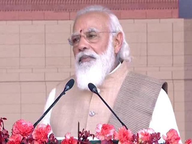 "Video : ""New Parliament Building Will Be Testament To Self-Reliant India,"" Says PM Modi"