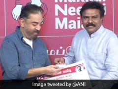 Ex-IAS Officer Santhosh Babu Joins Kamal Haasan's Party Ahead Of Tamil Nadu Assembly Polls