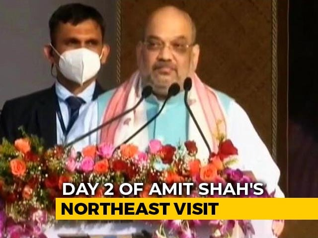 Video : Amit Shah To Visit Manipur, Address Rally In Imphal