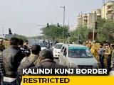 Video : Arterial Delhi-Noida Route Shut For Traffic Amid Farmers' Protest