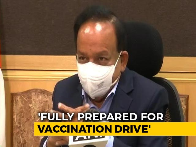 """Video : """"We're Considering Emergency Use Of Covid Vaccine,"""" Says Health Minister"""