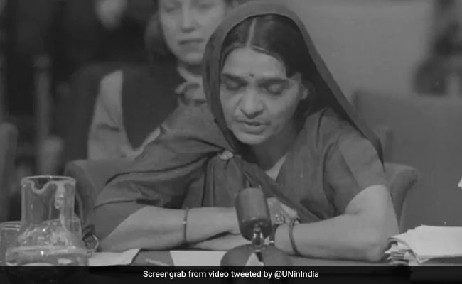Human Rights Day: Here's How Hansa Mehta, Lakshmi Menon Made India Proud