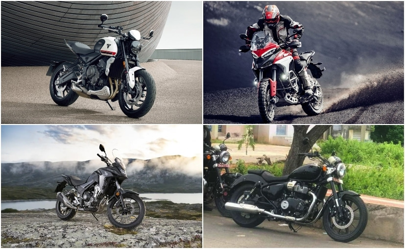 There's the Trident 600, Honda's 500 cc range, Multistrada V4 & Royal Enfield's cruiser in 2021
