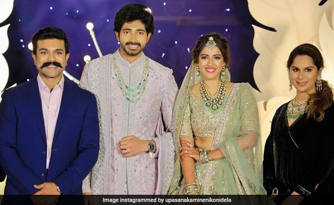 Inside Niharika Konidela And Chaitanya JV's Reception With Ram Charan And Others