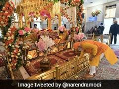"""Felt Blessed"": PM At Delhi Gurdwara; No Traffic Curbs For His Visit"
