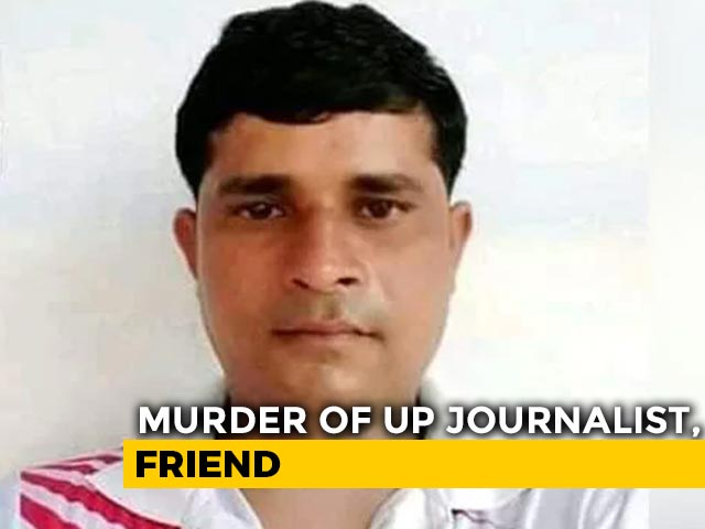 Video : UP Journalist Set On Fire With Sanitiser, Dies, 3 Arrested: Cops
