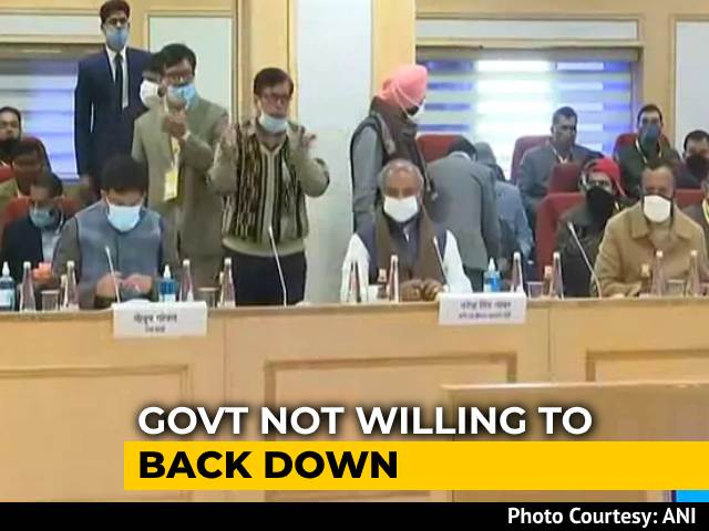 """Video : """"Today's Meeting Will Be Decisive"""": Minister As Centre Meets Farmers"""