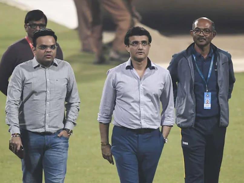 Sourav Ganguly's Fifty In Vain As Jay Shah's Secretary XI Beat President XI In Friendly At Motera - NDTV Sports