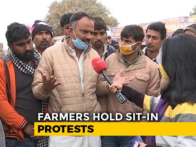 Video : Ready To Brave Cold, Say Farmers Amid Protests