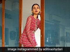 Aditi Rao Hydari's Fusion <i>Sharara</i> Is A Winner This Party Season