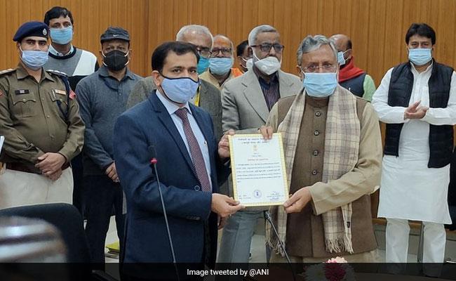 BJP's Sushil Kumar Modi Elected Unopposed To Rajya Sabha From Bihar