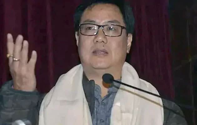 Kiren Rijiju Gets Additional Charge Of AYUSH Ministry