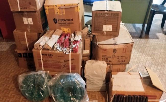 1,525 kg Of Explosives, 6,000 Detonators Seized In Meghalaya, 6 Arrested