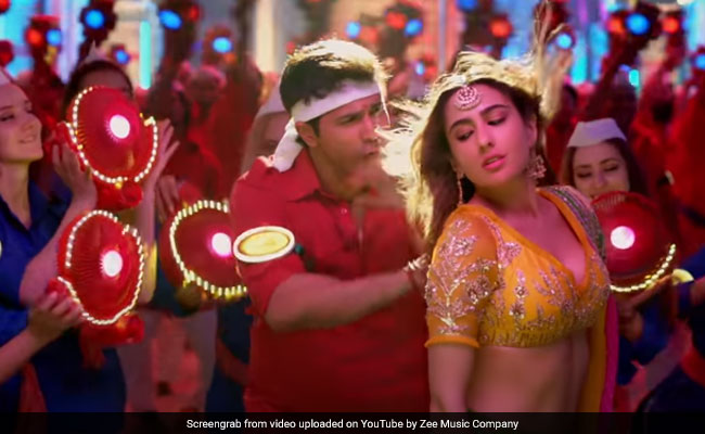 Coolie No 1 Song Teri Bhabhi: Love-Struck Varun Dhawan Can't Stop Thinking About Sara Ali Khan