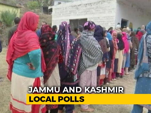 Video : Phase 5 Of J&K District Development Council Polls Today