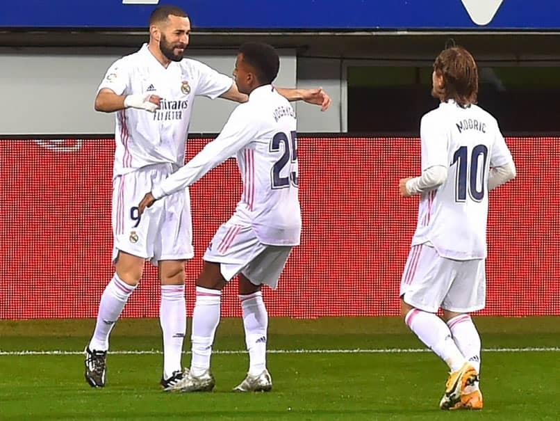 Karim Benzema Stars As Real Madrid Move Level With Atletico Madrid At La Liga Summit