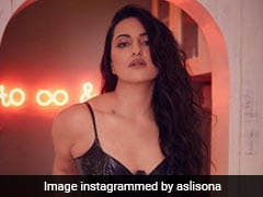 Sonakshi Sinha Gives Us Reason For The Season To Sizzle In A Little Black Dress