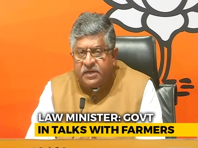 """Video : """"Shameless Double Standards"""": BJP Hits Out At Opposition Over Farmers' Protest"""