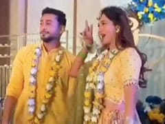 Bride-To-Be Gauahar Khan And Fiance Zaid Darbar Danced Their Hearts Out At Pre-Wedding Bash