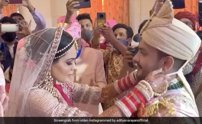 Aditya Narayan Shares Posts With Wife Shweta Agarwal After Wedding