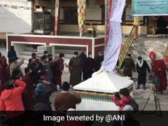 लेह में लद्दाख बुद्धिस्ट एसोसिएशन ने नए साल के जश्न में मनाया 'लोसर' उत्सव