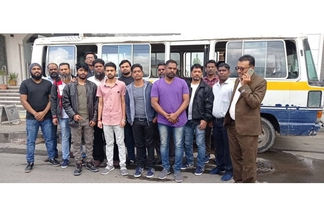 14 Indian Seamen, Released By Yemen Houthis, Fly Back Home Via Dubai
