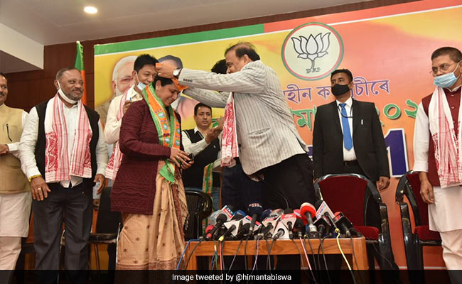 Ex-Congress MLAs Join BJP In Assam, Call Former Party 'Directionless'