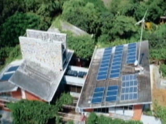 Video : Step Into A Green Home Powered By Renewable Energy