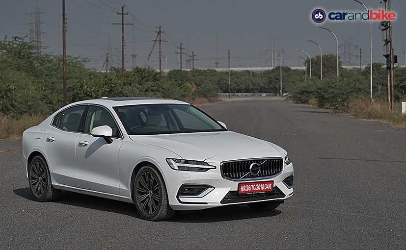The Volvo S60 will be launched in India in March 2021
