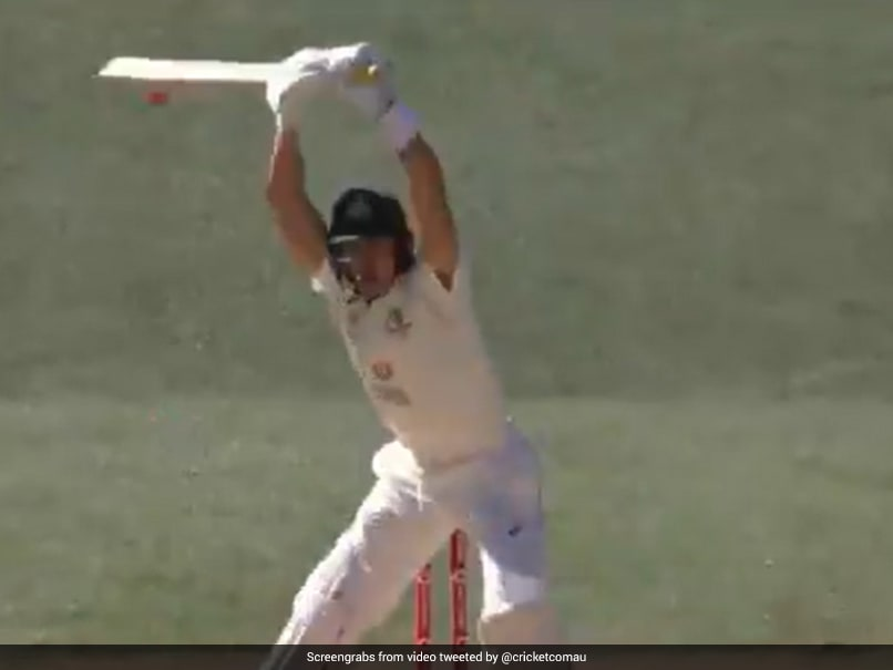 Aus Vs Ind 1st Test Marnus Labuschagne Imitates Steve Smith With No Run Antics Watch Technocodex
