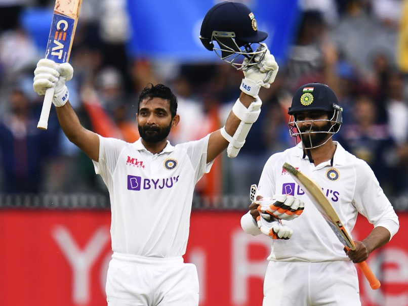 Rahane hits century for India against Australia