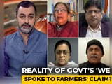 "Video : ""No Record Of Government Talks With Farmers"": NDTV Exclusive"